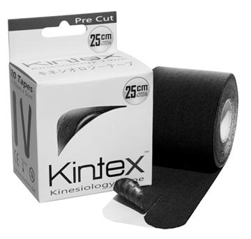 Bild von Kinesiologie Tape *Kintex PreCut* - schwarz