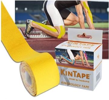 Bild von KK KinTape Kinesiologie Tape 5cmx5m - gelb