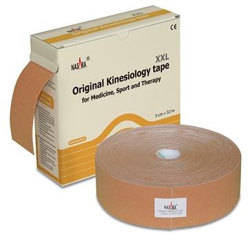 Bild von Nasara Kinesiologie Tape XXL - beige