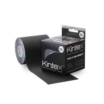 Bild von Kinesiologie Tape *Kintex Classic* - 7.5cmx5m - schwarz