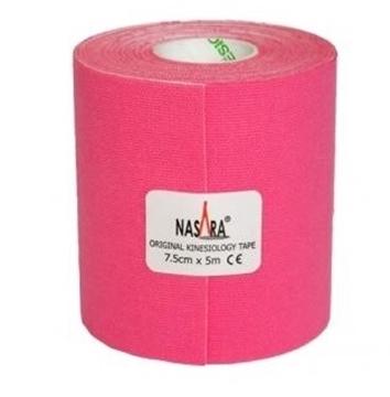 Bild von Kinesiologie Tape *Nasara* pink 7.5cmx5m