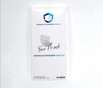 Bild von Medical Mask - Type IIR - 1 Box of 10 Pcs