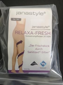 Bild von Janastyle Relaxa Fresh Stützstrumpfhose 20 DEN